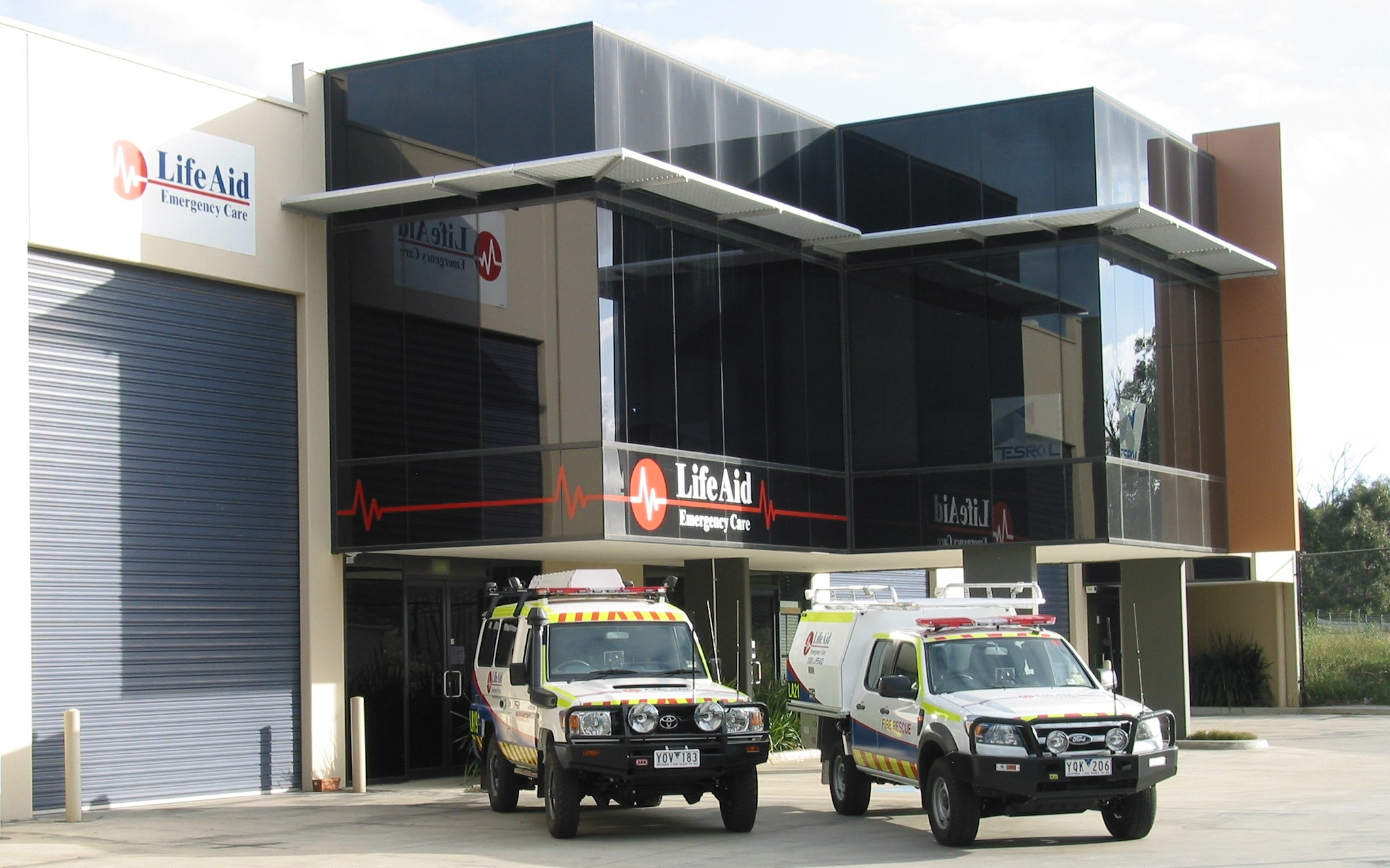 LifeAid head office in Croydon, Melbourne