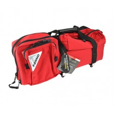 Soft pack bag for carrying resuscitation equipment