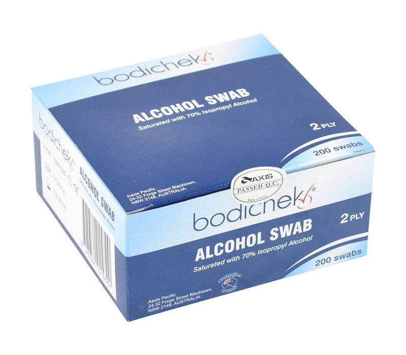 Bodicheck 70% Isopropyl Alcohol Wipes